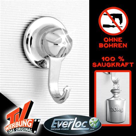 befestigung ohne bohren bad everloc wandhaken haken set vakuum saugnapf system bad ohne bohren badezimmer ebay
