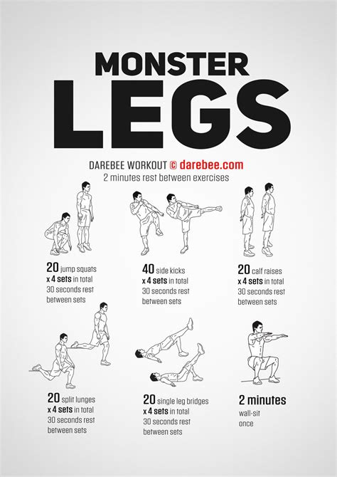 monster legs workout leg workouts workout leg