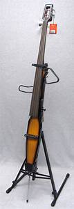 Stagg Electric Double Bass 3/4 Upright 4-String Violin ...