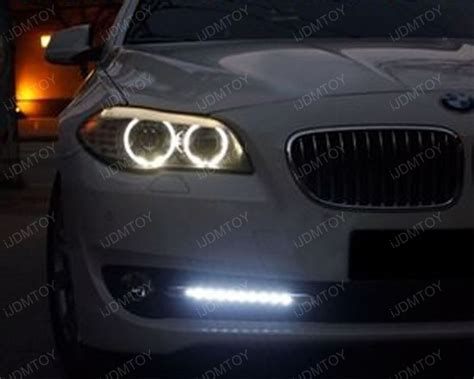 Bmw Lights by 2010 2013 Bmw F10 5 Series Oem Fit Led Daytime Running Lights
