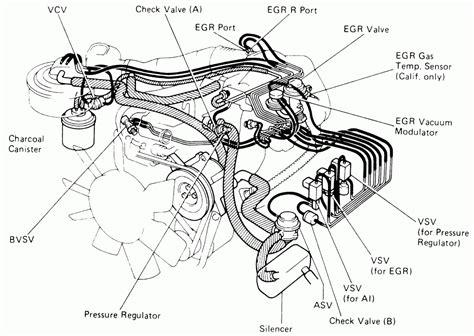 Toyota Pickup Engine Diagram Automotive Parts