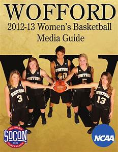 2012-13 Wofford Women's Basketball Media Guide by Wofford ...