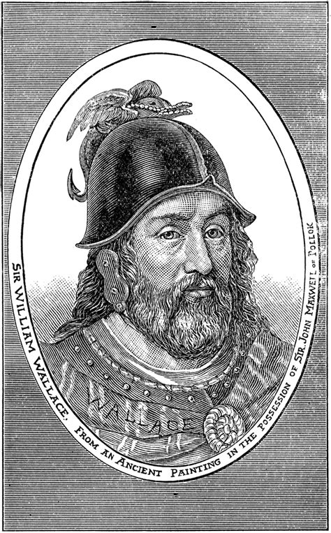 sir william wallace clipart