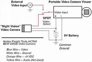 Weatherproof Security Camera 47546 Wiring Diagram
