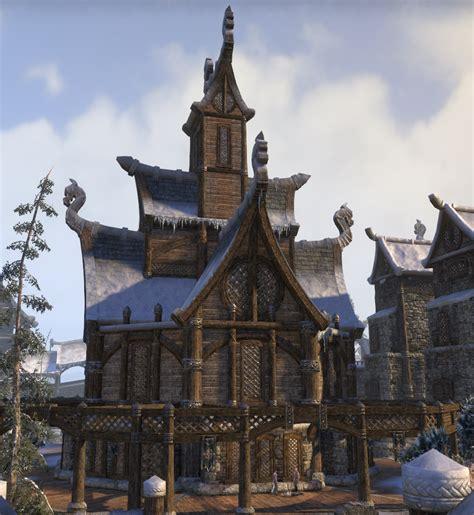 Sword Art Online Scenery Nordic Buildings Google Search Building Pinterest Drawings