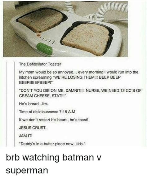 The Defibrillator Toaster by 25 Best Memes About Beep Beep Beep Beep Memes
