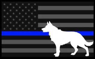 Law Enforcement Thin Blue Line K9