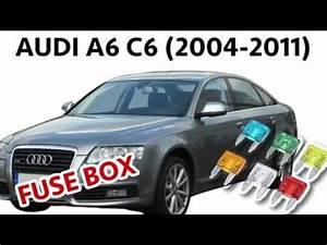 2007 Audi A6 Fuse Diagram : audi a6 c6 2004 2011 fuse box diagram location youtube ~ A.2002-acura-tl-radio.info Haus und Dekorationen