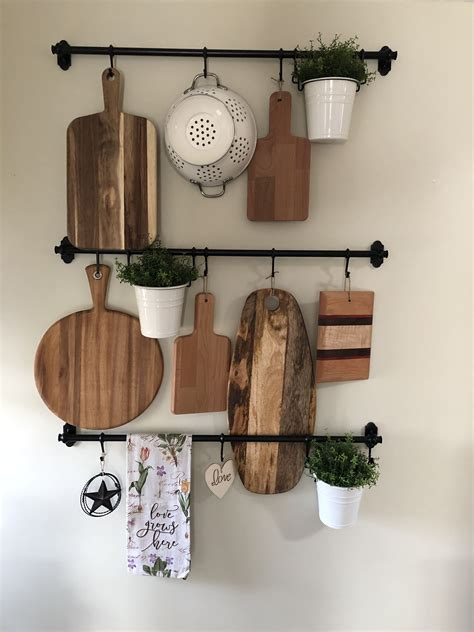 farmhouse wall organizer art piece  pieces