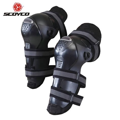 motorcycle riding accessories scoyco motocross off road racing knee protector guard