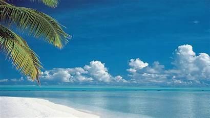 Desktop Beach Background Paradise Wallpapers