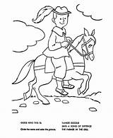 Coloring Nursery Yankee Rhymes Doodle Quiz Pages Bluebonkers Sheets Town Goose Mother Rhyme Fun Template Popular sketch template