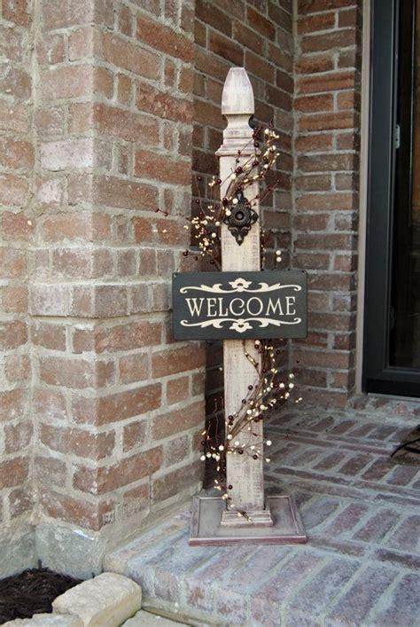 Rustic Sign Post Porch Wood