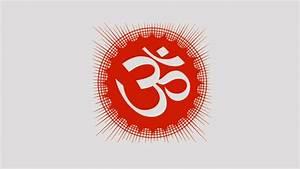 Om Hindu Symbols 4K Uhd Background Wallpaper - HD Wallpapers
