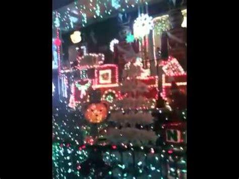 christmas lights in bensonhurst brooklyn youtube