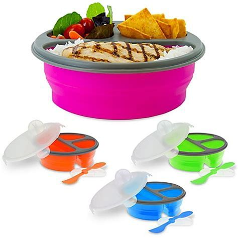 SmartPlanet Round Collapsible Meal Kit   Bed Bath & Beyond
