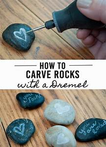 How to Carve Rocks using a Dremel