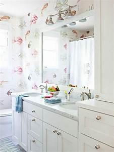 Tapeten Badezimmer Beispiele : bekannte tapeten badezimmer beispiele dj17 kyushucon ~ Markanthonyermac.com Haus und Dekorationen