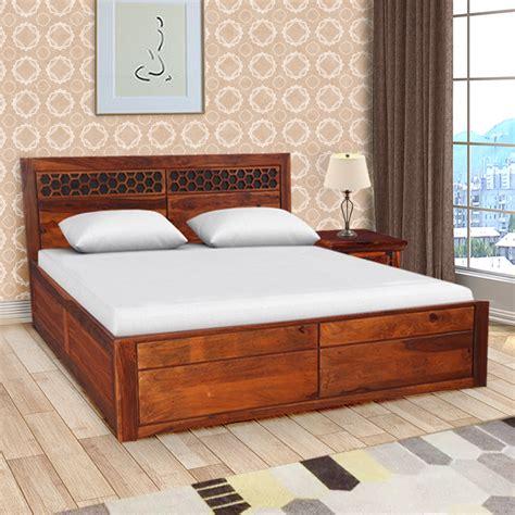 buy amara sheesham woodrosewood box storage king bed