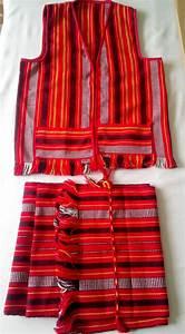 Loincloth Bahag & Vest Ifugao Igorot handwoven Fabric