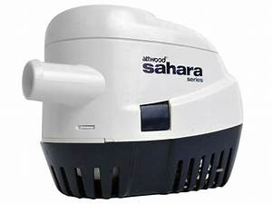 Attwood Sahara Automatic Marine Bilge Pump For Boats  Rv