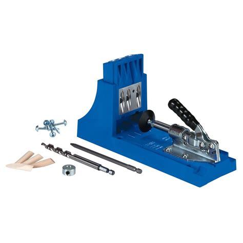 Kreg Jig® Pockethole Jig System  Lowe's Canada