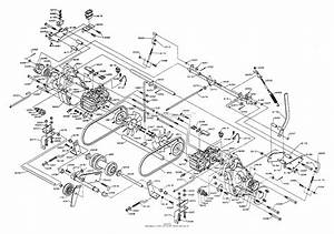 Dixon Ztr 542  1992  Parts Diagram For Gearbox  Hydrostats