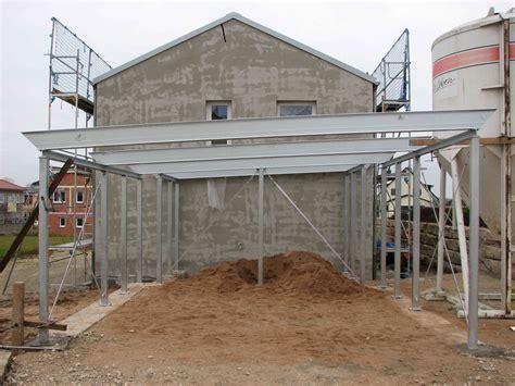 carport aus stahlkonstruktion carport stahlkonstruktion fertig baublog