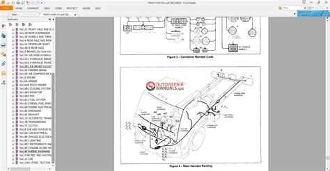 Wiring Diagram 2001 Isuzu Cabover Truck by Isuzu Gmc Cabover Service Manuals From 1996 1999 Auto