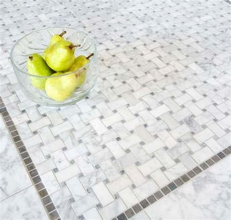 basketweave mosaic tiles traditional mosaic tile by
