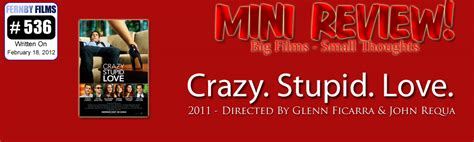 Movie Review  Crazy, Stupid, Love (mini Review)  Fernby