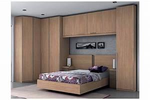 Armoire Pont De Lit : pin lit compact armoire gami on pinterest ~ Teatrodelosmanantiales.com Idées de Décoration
