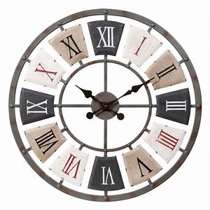 Horloge En Metal : horloge en m tal d 62 cm lanilys maisons du monde ~ Teatrodelosmanantiales.com Idées de Décoration