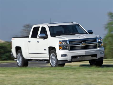 chevrolet silverado high country   test truck trend
