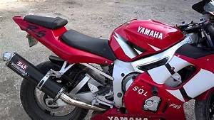 2002 Yamaha Yzf R6 Walk Around And Rev-up
