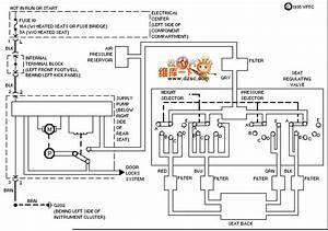 Mercedes-benz 190e Seat Adjustment Circuit Diagram