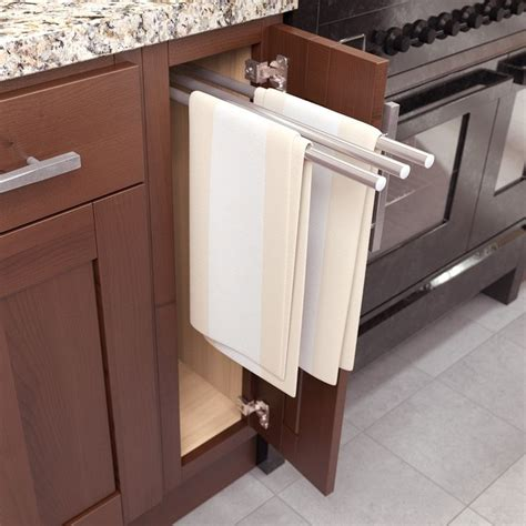 towel rack for kitchen cabinet 17 best images about cabinets hardware interior 8563