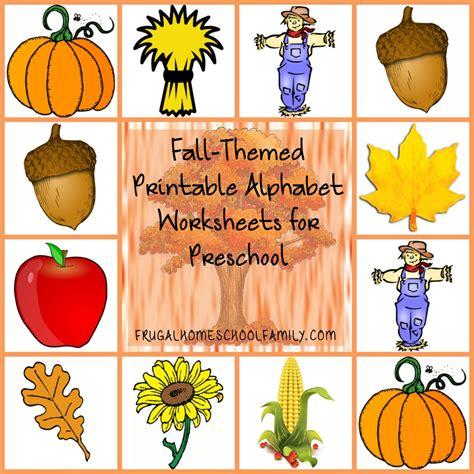 preschool fall theme autumn worksheets for preschoolers preschool and 745