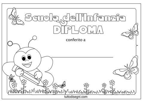 disegni bambini diplomati scuola infanzia diplomi scuola infanzia da colorare ape diplom