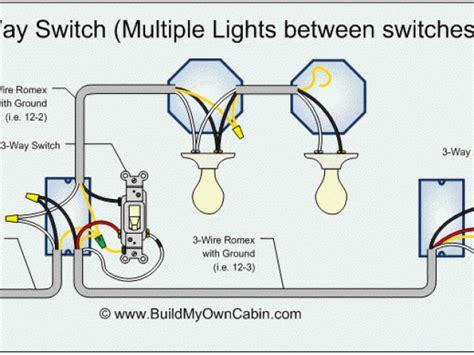 3 way switch wiring diagram throughout 2 way switch wiring