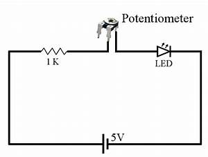 Three Ways Of Connecting Potentiometer In Circuits With Circuit Diagram  U00ab Funny Electronics