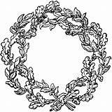 Wreath Coloring Colouring Wreaths Reminiscences Schurz Google Commons Wikimedia Pixels Zapisano sketch template