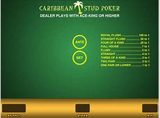 Caribbean Stud Poker for Real Money or Free Wizard of Odds