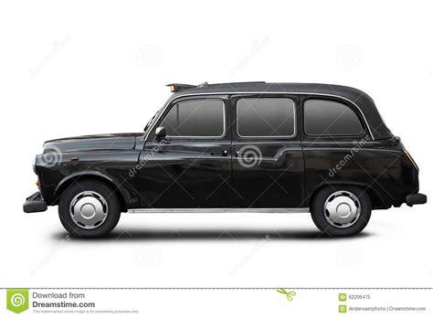 carrozza in inglese vecchio taxi inglese carrozza nera su bianco immagine