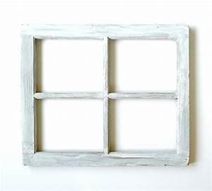 Four Pane Wood Window Frame