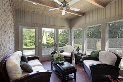 seasonal porches   outfitted  radiant heat