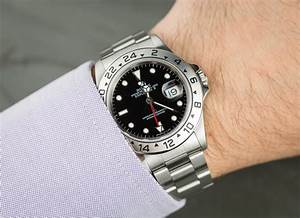 Rolex Black Explorer II 16570