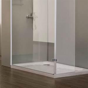 Paroi Douche Verre Sablé : paroi de douche fixe calypso verre 8 mm avec retour 120 ~ Premium-room.com Idées de Décoration