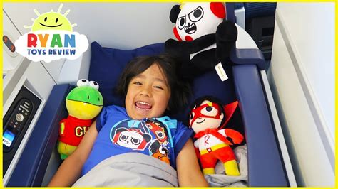 Ryan Toysreview Airplane Ride With Pretend Play Toys