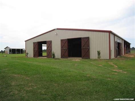 Metal Horse Barns, Hose Barn Kits, Steel Horse Barn Buildings